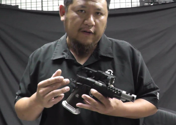 ASGI Uncut Frank's Real & Airsoft Competition Pistols