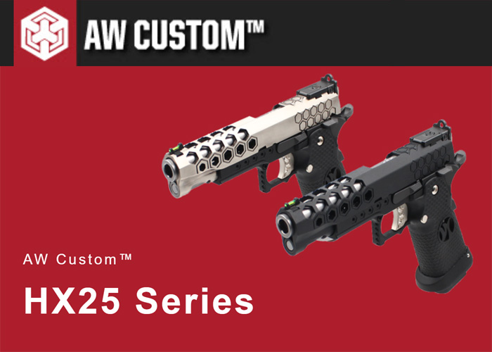 AW Custom HX25 Gas Pistol Series