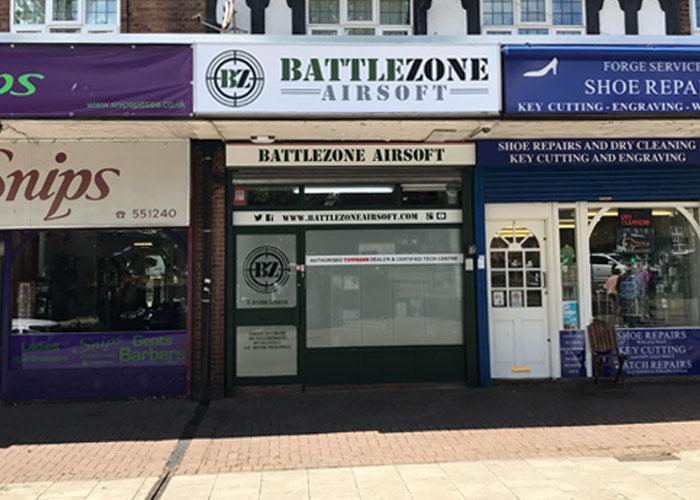 BattleZone Airsoft, Basildon, Essex
