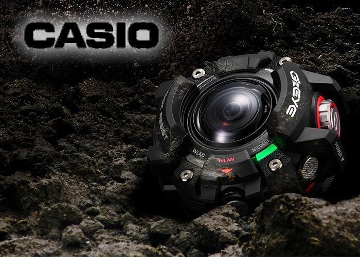 Casio G'z EYE GZE-1 Action Camera