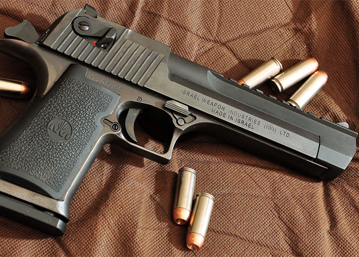 .50 Desert Eagle Pistol (Wikipedia)