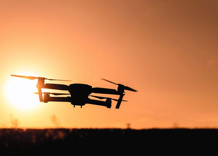 DJI Mavic Pro Drone Sunset