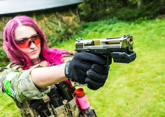 Femme Fatale: MantisX Training System