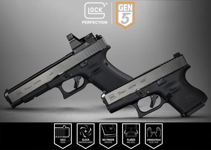 Glock Gen 5 Glock 26 & Glock 34 MOS