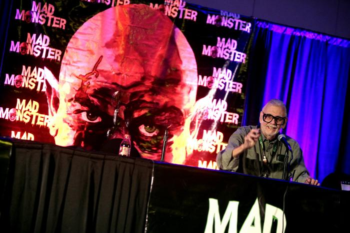 George A. Romero At Mad Monster 2016