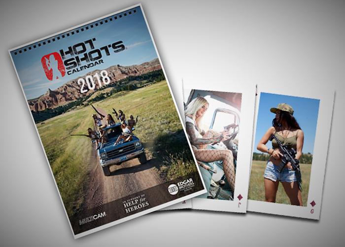 hot shots calendar   popular airsoft