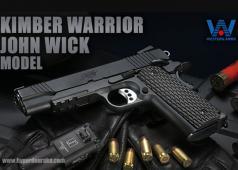 Hyperdouraku WA Kimber Warrior John Wick Model