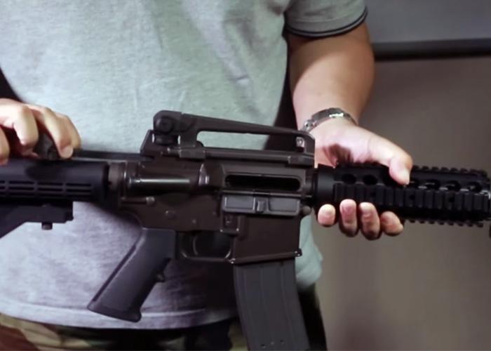 King Arms Colt M4A1 GBB