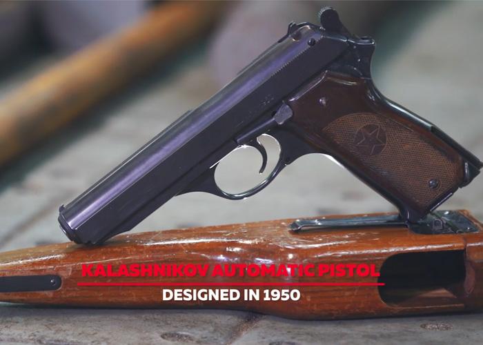 Kalashnikov Automatic Pistol (APK)