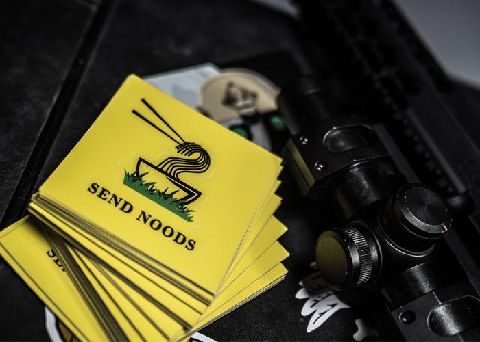 Low Speed Gear Gadsden Send Noods Sticker