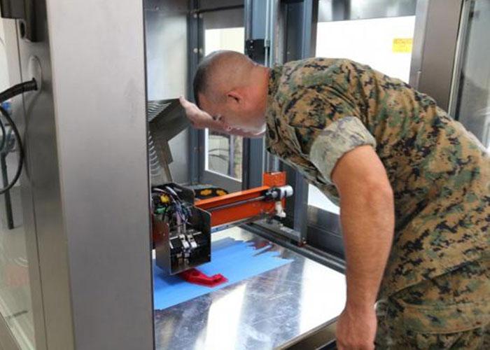U.S. Marine 3D Printing