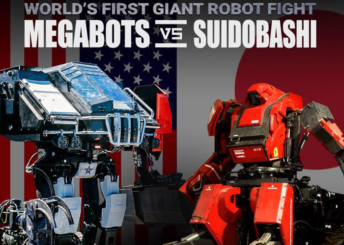 Megabots vs Suidobashi on Twitch