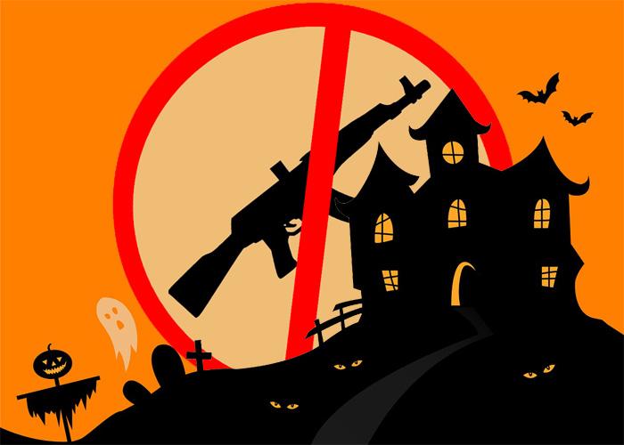 No Airsoft Guns On Halloween 2017