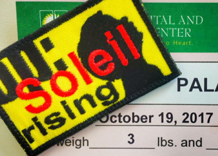 Operation Soleil Rising Patch