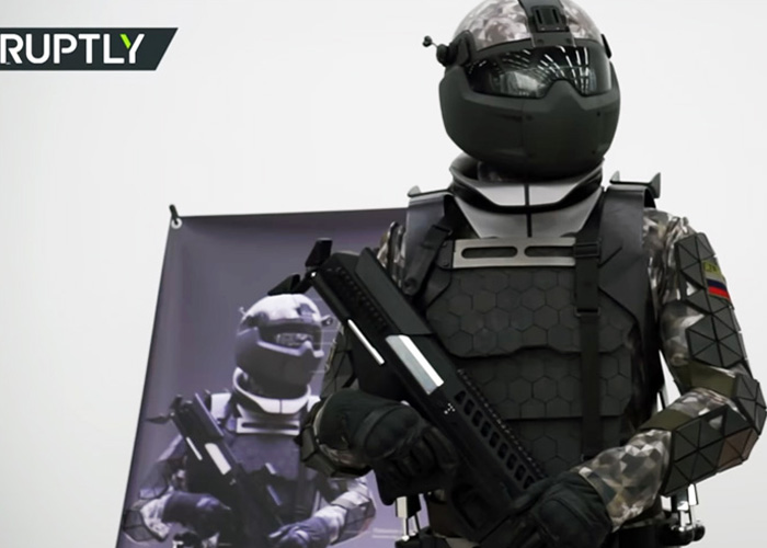Russian Next Gen Combat Suit (Russia Today)