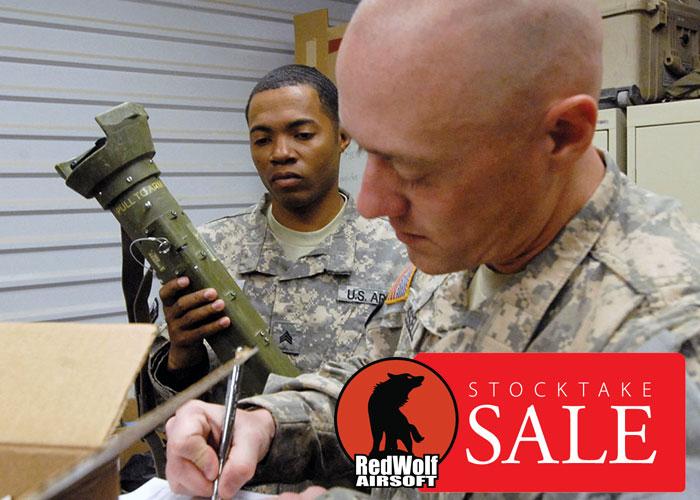 RedWolf Airsoft Stocktake Sale 2017