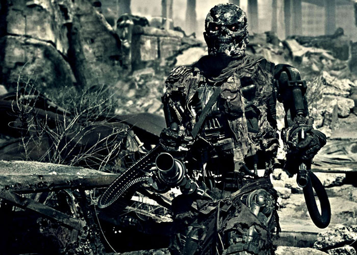 Robots From Terminator Movie
