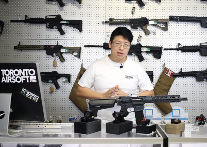 Toronto Airsoft Airsoft 101 Guide: Red Dot Sights