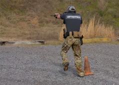 Tactical Rifleman One Leg Agility Shooting Drill