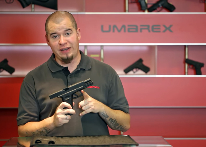 Umarex Glock 17 Gen 4 Gas Blowback Pistol