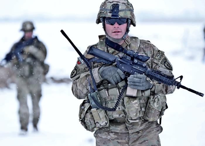 U.S. Army Spc. Robert Irwin in Paktya Province Afghanistan