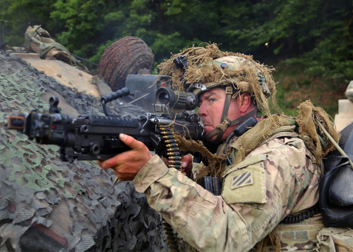 U.S. Army M249 (U.S. Army Photo)
