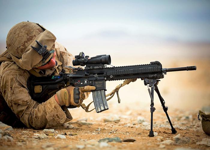USMC M27 IAR Island Warriors
