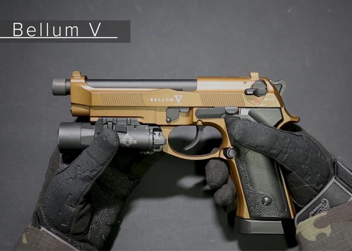 0'20 Mag: Secutor Arms New M9 Bellum