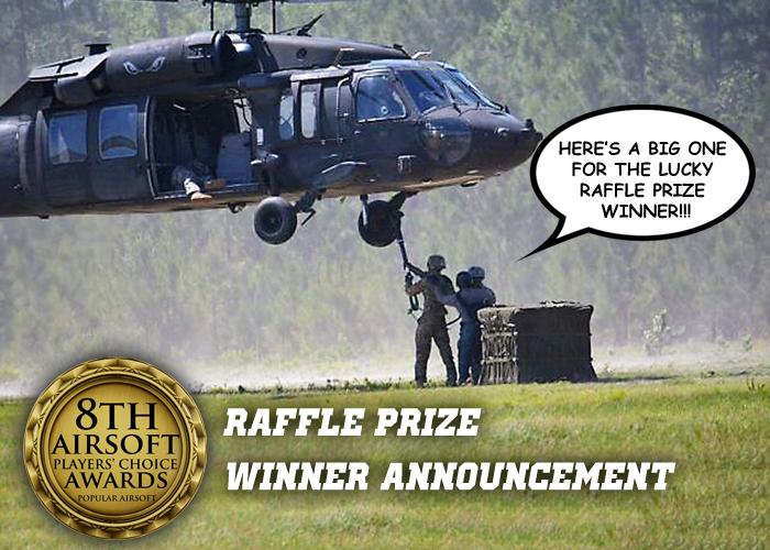 8 APCA Raffle Winner Announcement