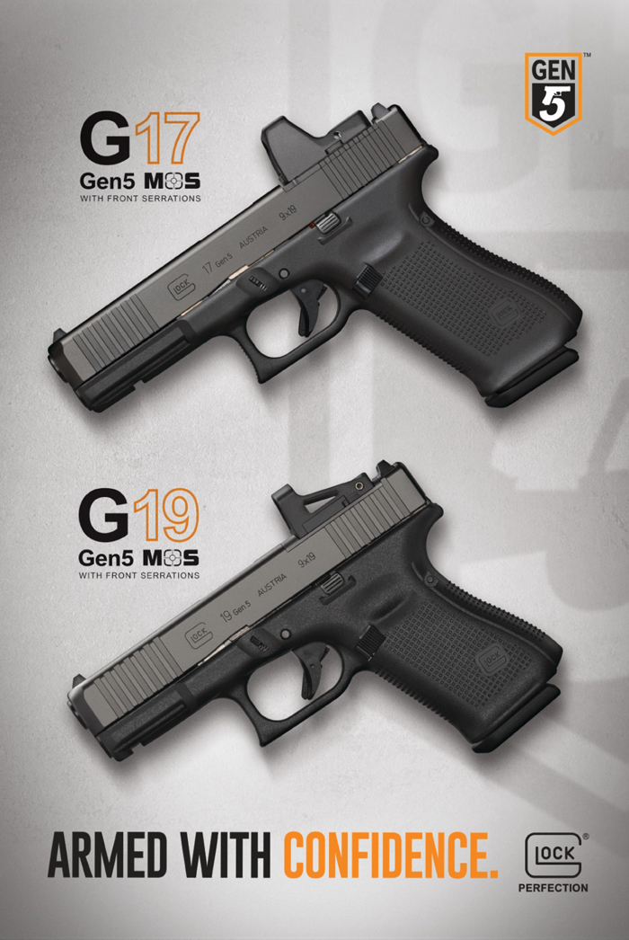 Glock Introduces The Glock Model 45, Glock 17 Gen 5 & Glock