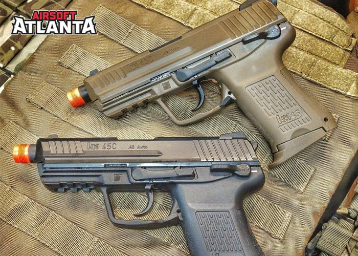 Airsoft Atlanta VFC HK45CT Pistols