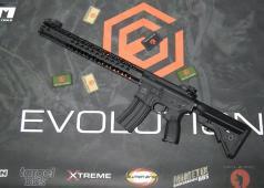 Airsoft Mike Evolution Recon LA M4 Carbontech