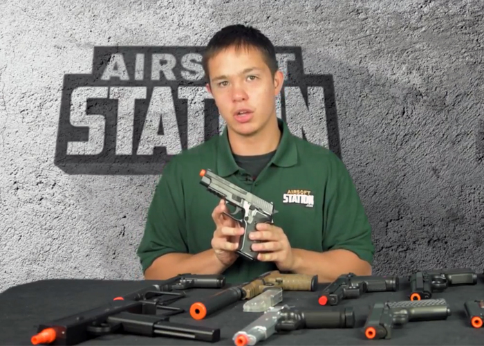 Airsoft Station 10 Spring-Powered Airsoft Pistols Review