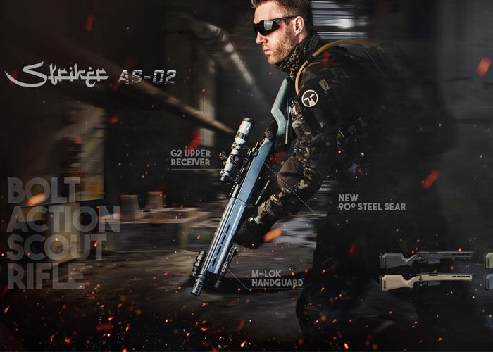 Amoeba Striker AS-02 Sniper Rifle