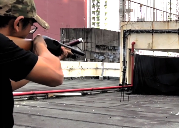 APS CAM MK3 Shotgun Grouping Test