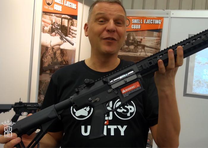 BB2K IWA 2018: Rare Arms GBBsa