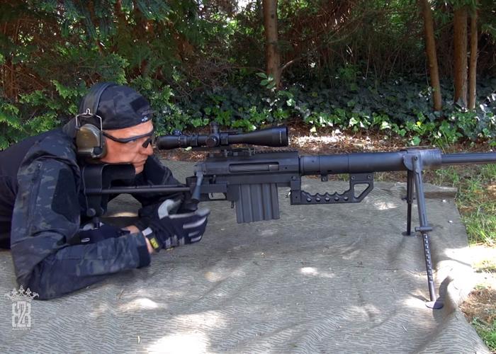 BB2K Airsoft: SOCOM Gear M200 Cheytac Review
