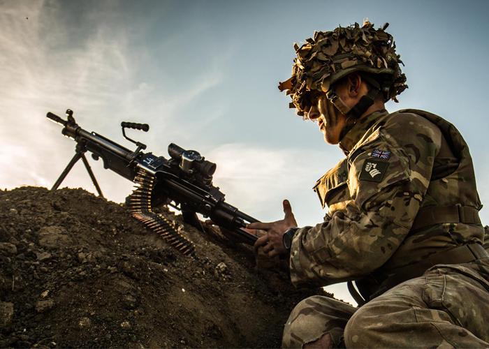 British Army L129A1