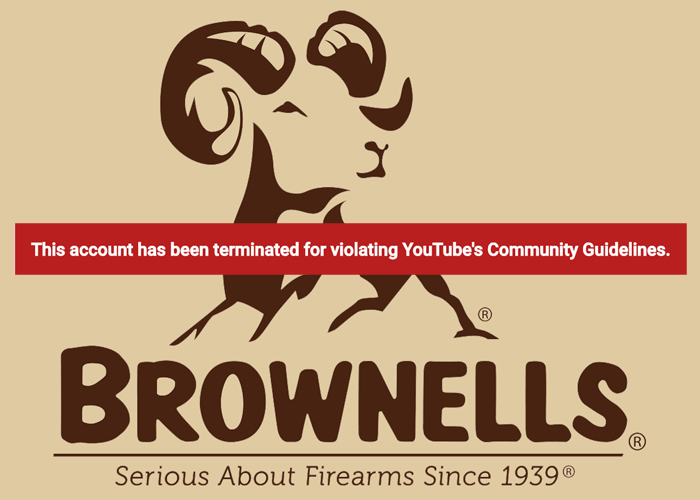 Brownells YouTube Termination