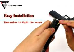 CowCow Technology Fibre Optic Trinity Front Sight