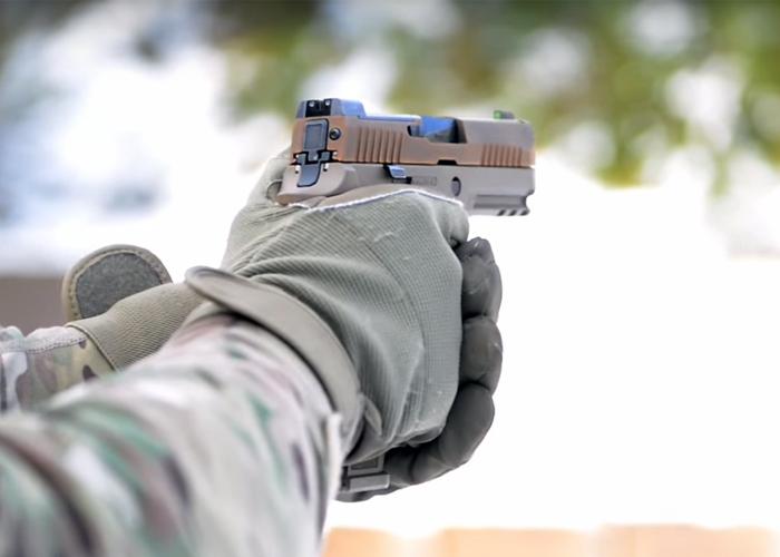 SIG P320 X-Carry (Forsvaret)