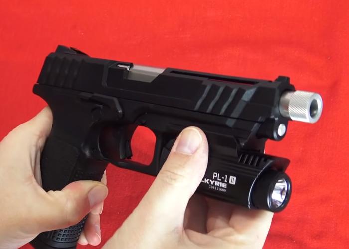 Antre du Dingo Dingchavez G&G GTP-9 Gas Blowback Pistol Review