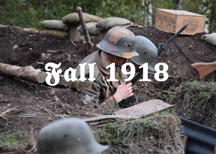 Fall 1918 WWI Airsoft Game Event Popular Airsoft
