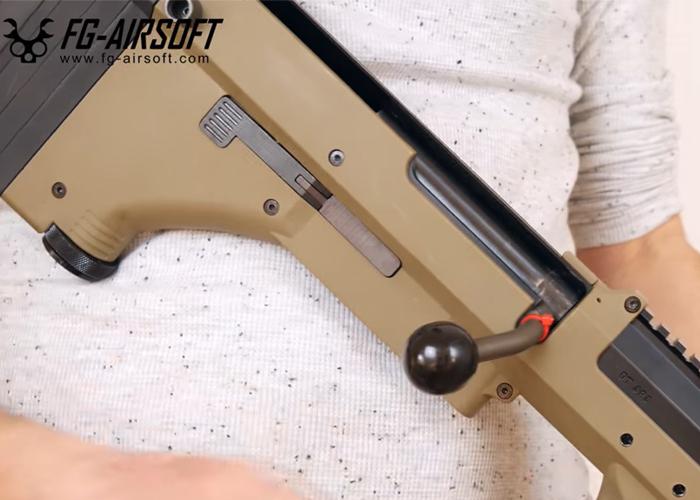 FG-Airsoft SBA SRS Pull+Push Bolt