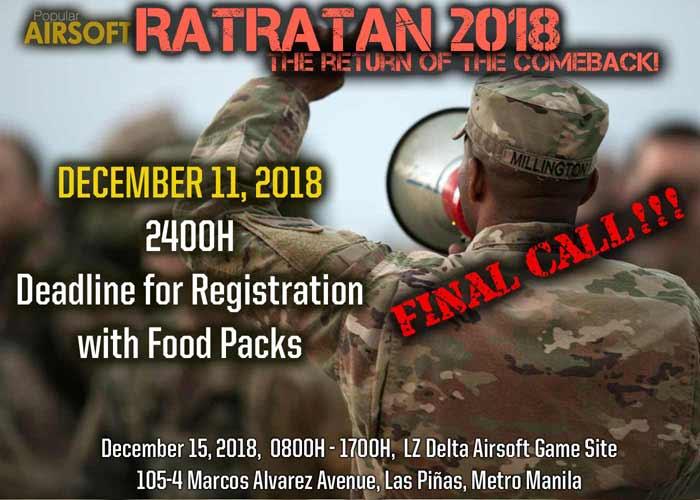 Ratratan 2018 Food Packs Reg Final Call