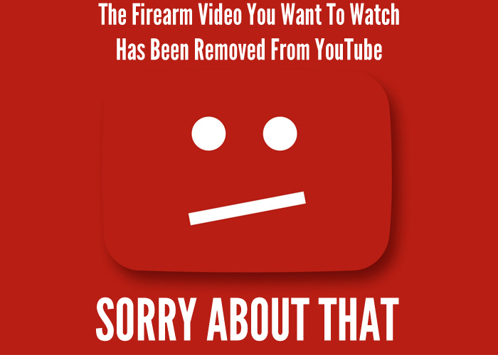Firearm Content Banned YouTube