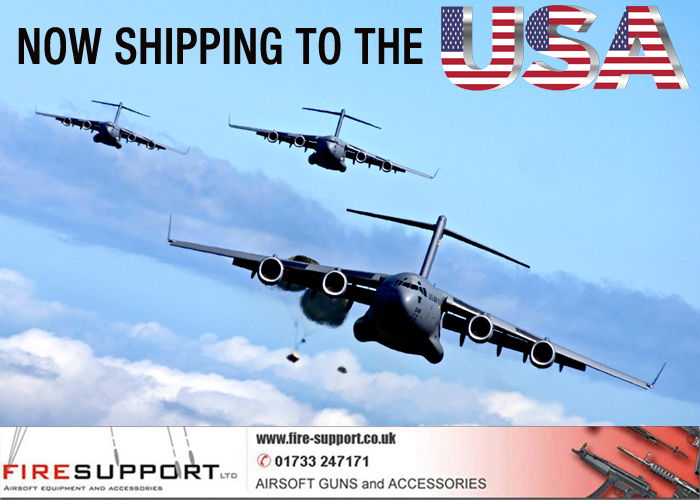 Firesupport Shipping to USA