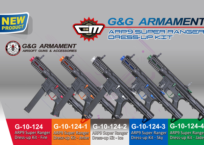 G&G ARP 9 Color Kits