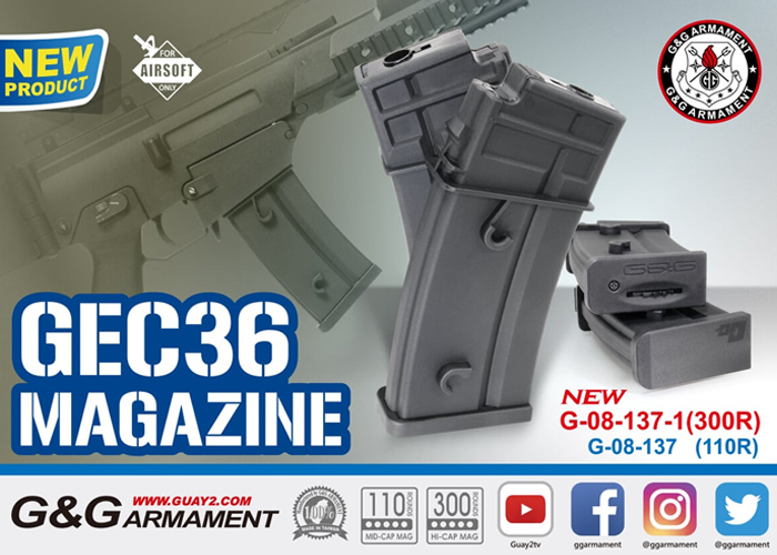 G&G GEC36 High Cap Magazine