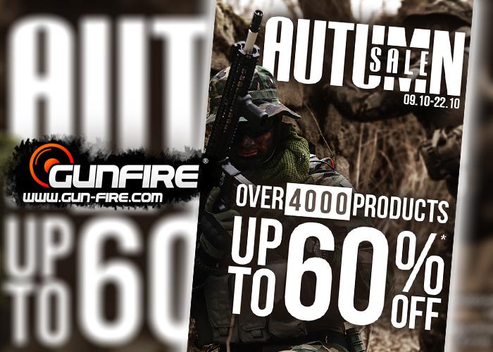 Gunfire Autumn Sale 2018